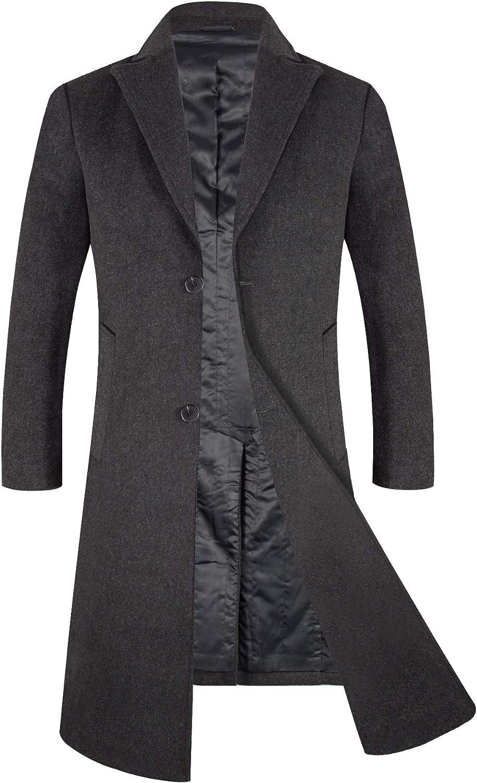 Grey Wool Coat Mens Photo Album Reikian | Mens wool coats