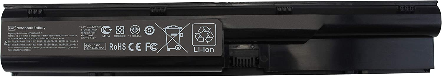 PR06 PR09 Laptop Battery Compatible with HP Probook 4330s 4331s 4430s 4431s 4435s 4440s 4441s 4446s 4530s 4535s 4536s 4540s 4545s Series 633805-001 633733-321 HSTNN-OB2R HSTNN-IB2R 650938-001