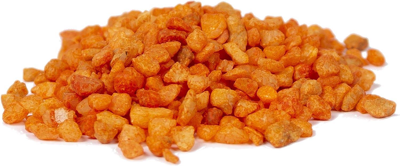 750g 750 Gramm HEKU 30332-11: Deko-Granulat orange in wiederverschlie/ßbarer Dose