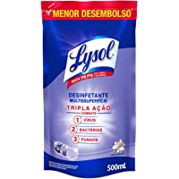 Desinfetante Líquido Lysol Brisa da Manhã 500Ml, Lysol, Roxo