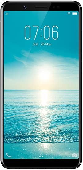 Vivo V7 (Matte Black, Fullview Display)