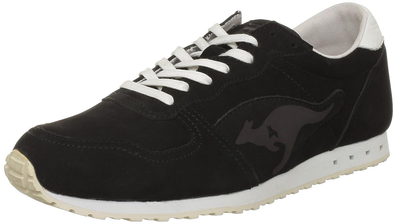 Kangaroos - Zapatillas de Deporte de cuero nobuck Hombre 43 EU|Negro - Noir (Blk)