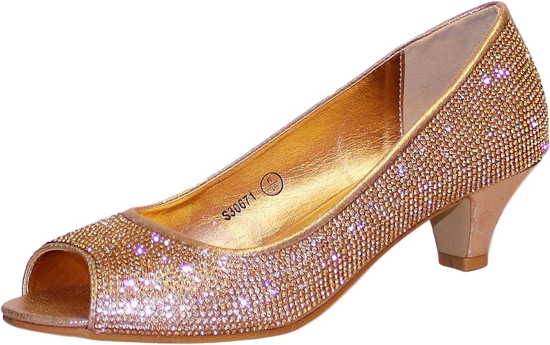 kitten heel sparkly sandals