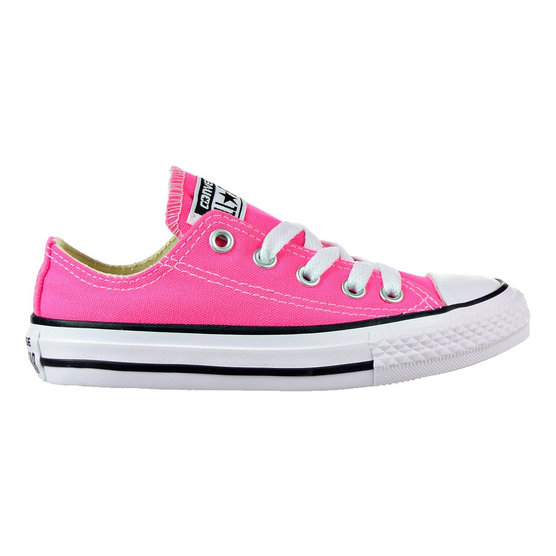 Converse Chuck Taylor All Star Season OX, Unisex Sneaker  13 Little Kid M|Pink Pow