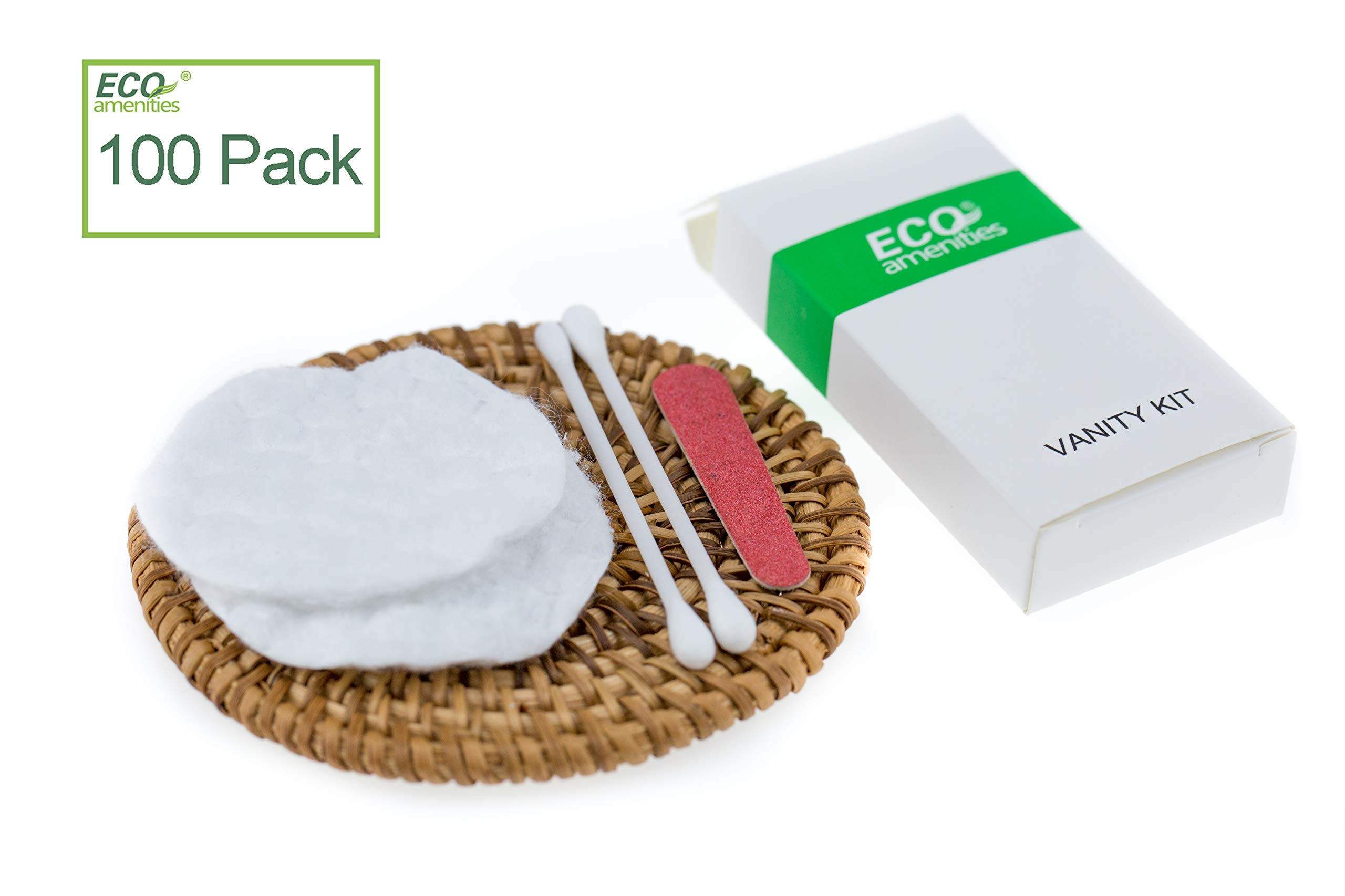 ECO Amenities Hotel Vanity Set, Individually Wrapped Paper Box, 100 Sets per Case by ECO Amenities
