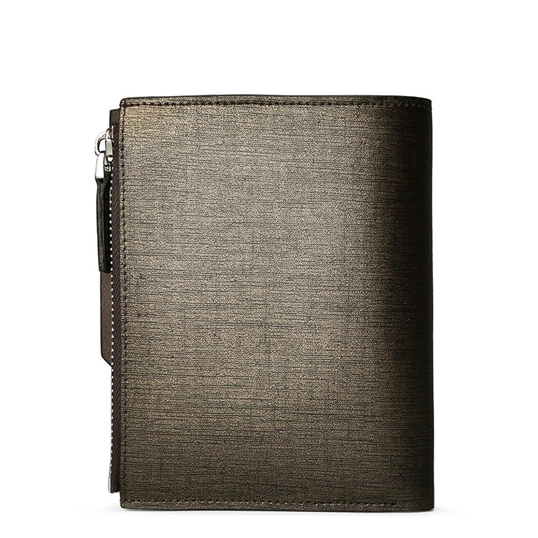 f770f00b5387 Amazon | Padieoe 長財布 二つ折り 財布 メンズ 本革 人気 ブランド メンズ小銭入れ 財布 革QB160626-2J 通販