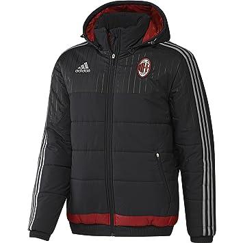 2015-2016 AC Milan Adidas Padded Jacket (Black)  Amazon.es  Deportes ... 72dfcf23ccab2