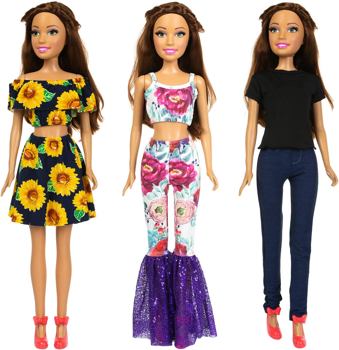 Fashionable doll clothes Clothes for 28 inch Barbie and friends Adorable outfit handmade for 28 inch dolls