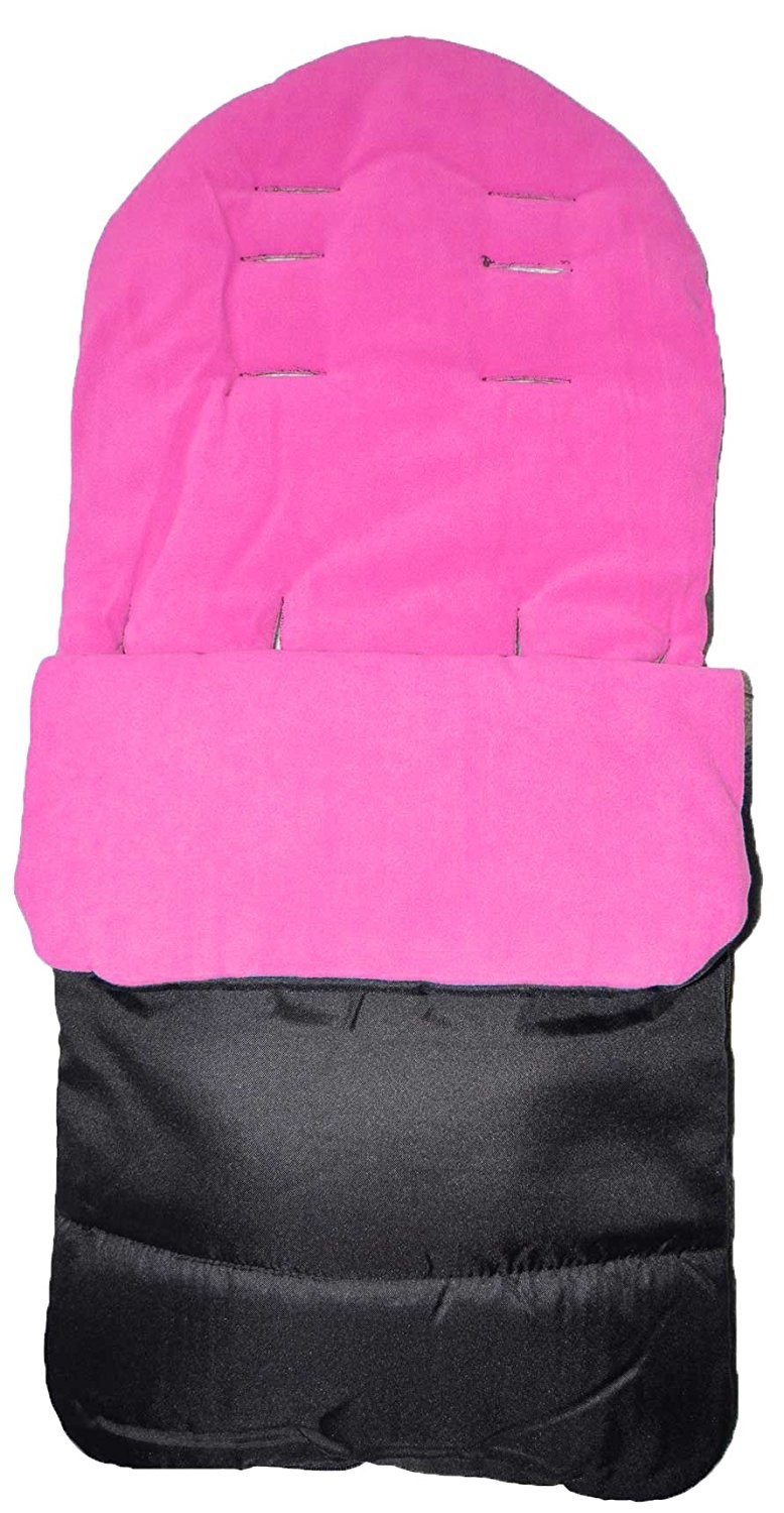 Universal Baby Stroller Cosy Toes Liner Buggy Padded Luxury Footmuff Pink Rose
