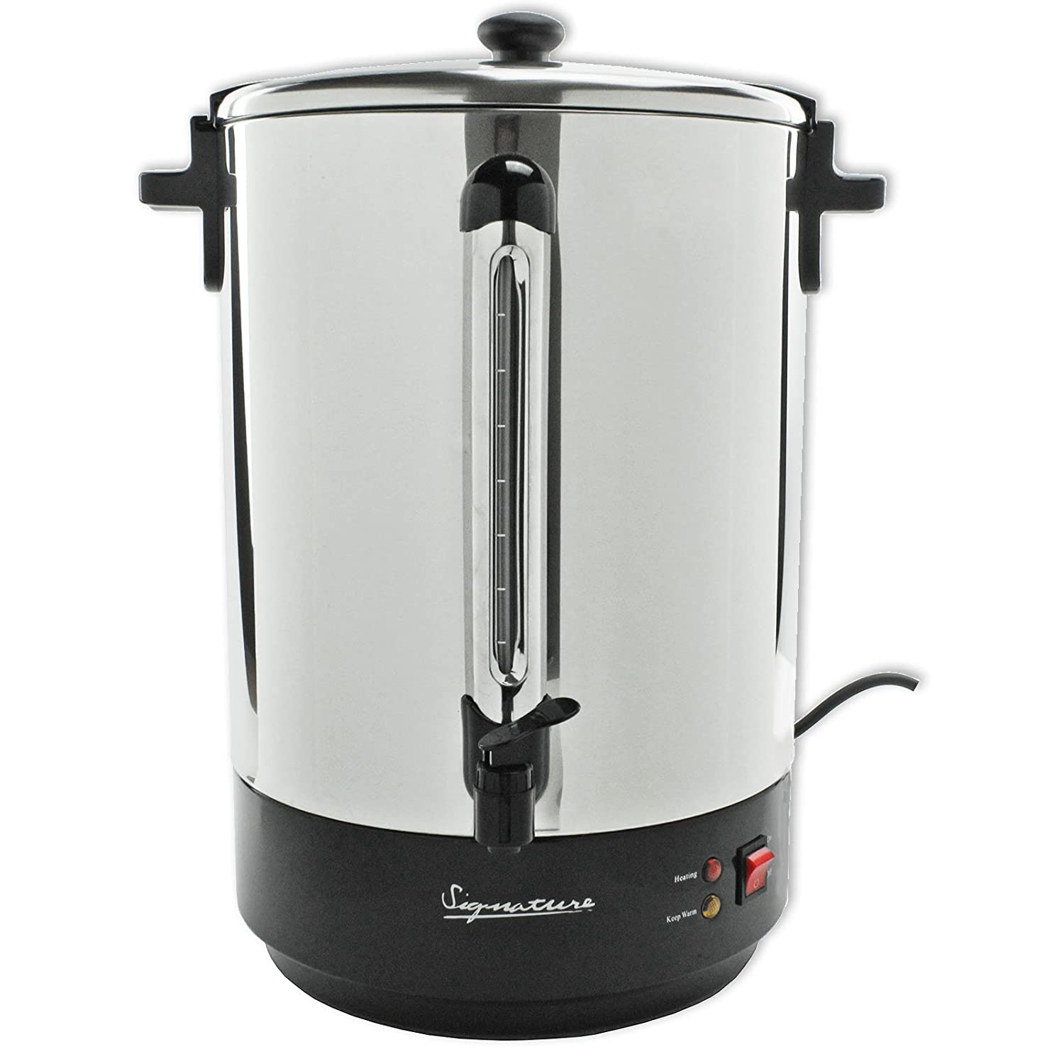 Signature Tea Urn Commercial Electric Catering Hot Water Boiler (2 ...