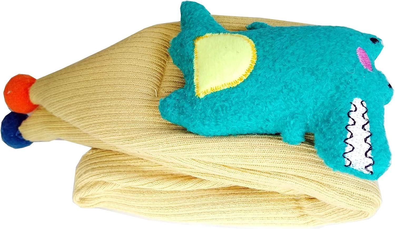 Infinity Kids Boys Grils Scarf Crocodile Doll,LONGWEIZ Unisex Toddler Scarf fashion,Cross Scarf,Lightweight Knitted