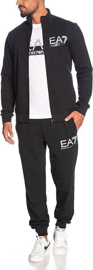 Emporio Armani EA7 Hombre Chandal Black XL: Amazon.es: Ropa y ...
