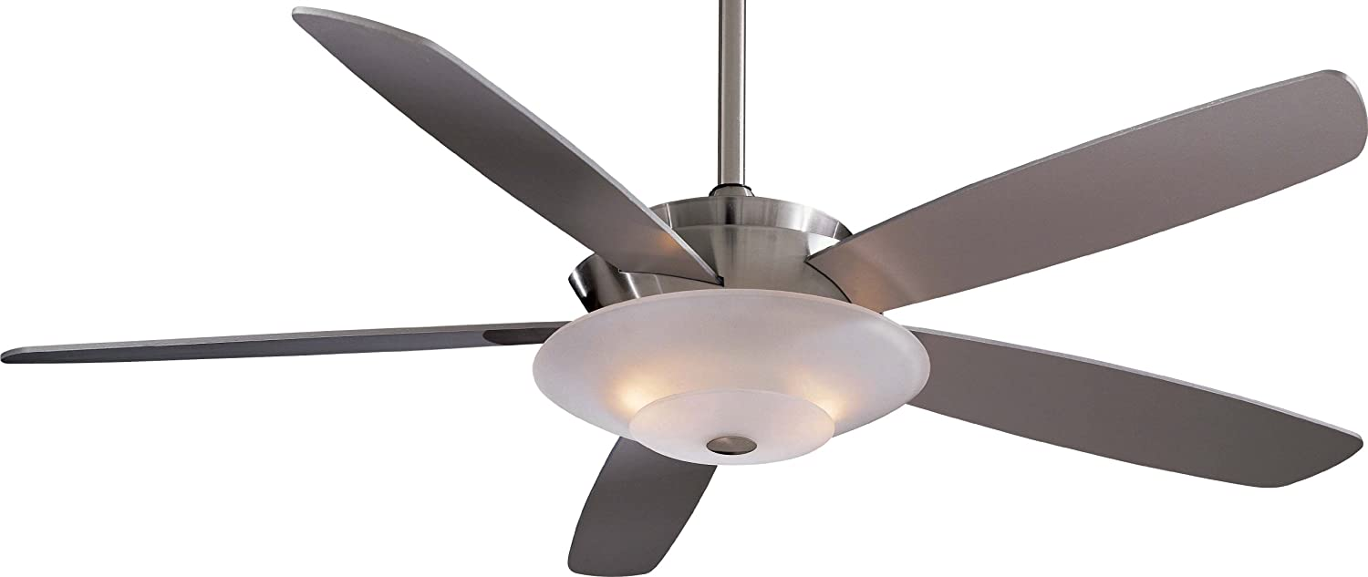 Minka aire f598 bn airus 54 ceiling fan with light brushed minka aire f598 bn airus 54 ceiling fan with light brushed nickel amazon aloadofball Gallery