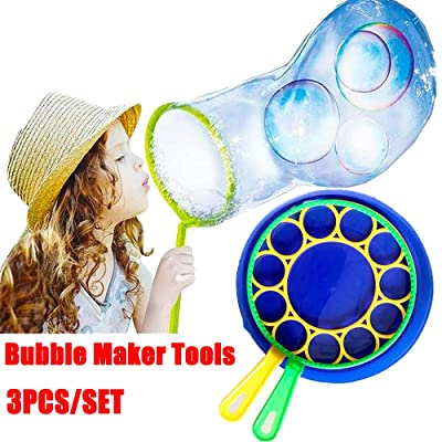 CHDHALTD Bubble Gun Blower for Kids Funny Bubble Blow Maker Wand,Handheld Bubble Maker for Garden Outdoor Children Family Toy Gift Game: Home & Kitchen