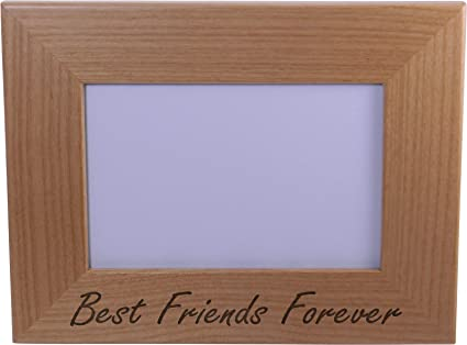 Amazon.com - Best Friends Forever 4x6 Inch Wood Picture Frame ...