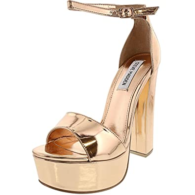 45cf0a8fdf1 Steve Madden Women's Gonzo Platform Dress Sandal