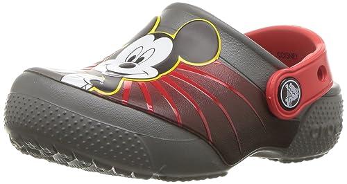 1611cd4d0 Crocs Unisex-Child Fun Lab Mickey 90th Birthday Clog  Amazon.ca ...