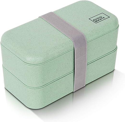 Lunchbox fiambrera sostenible ♻ La caja de la fiambrera es de ...
