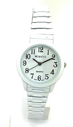 Amazon.com: Wincci - Reloj de pulsera para mujer, estilo ...