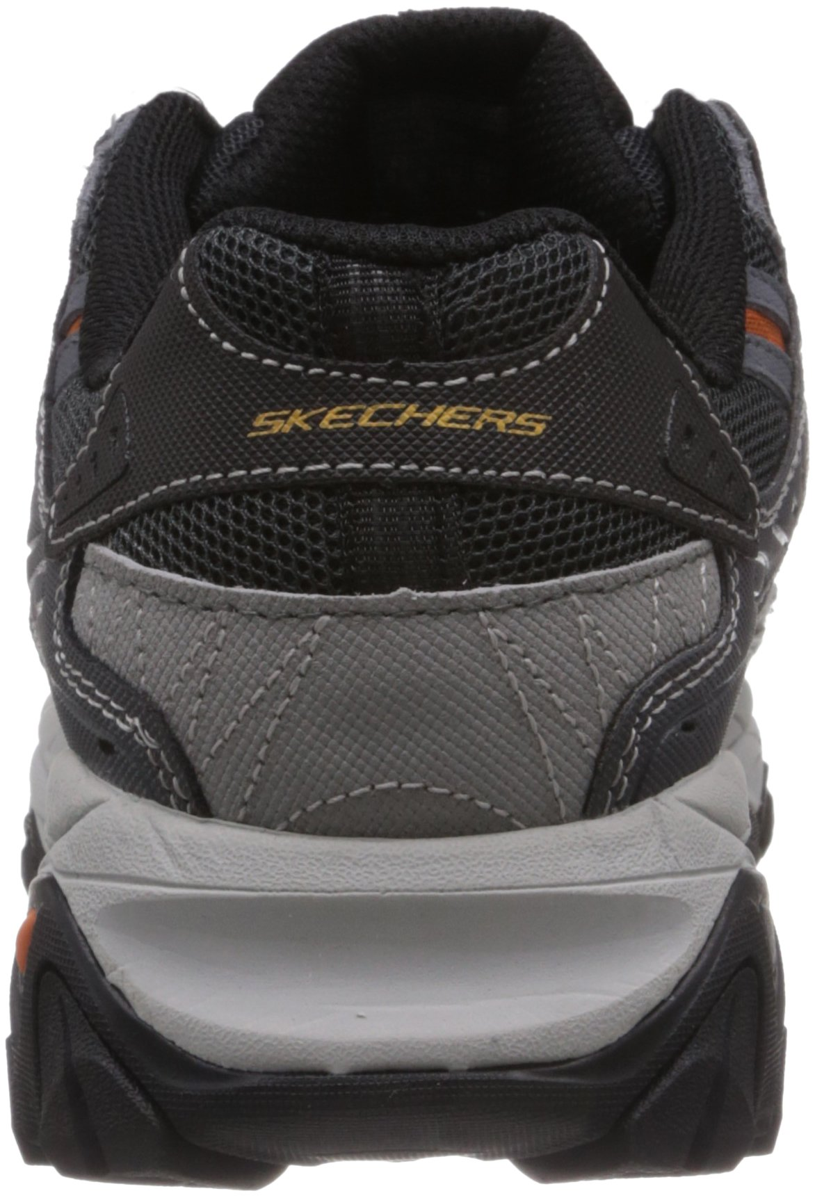 Skechers Sport Men's Afterburn Memory Foam Lace-Up Sneaker, Charcoal, 7 M US by Skechers (Image #2)