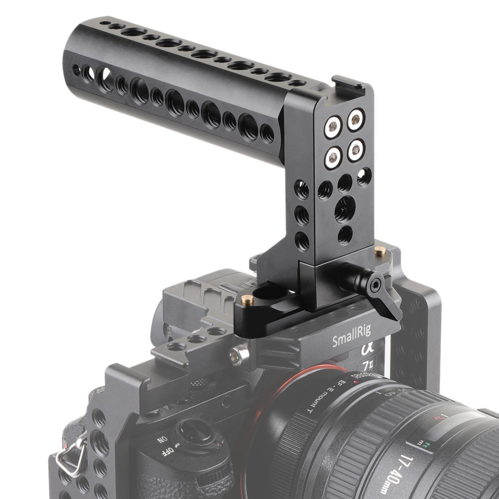 SMALLRIG NATO Top Handle Grip for Camera Cage Cheese Handle with 70mm NATO Rail Cold Shoe - 2003 by SmallRig (Image #6)