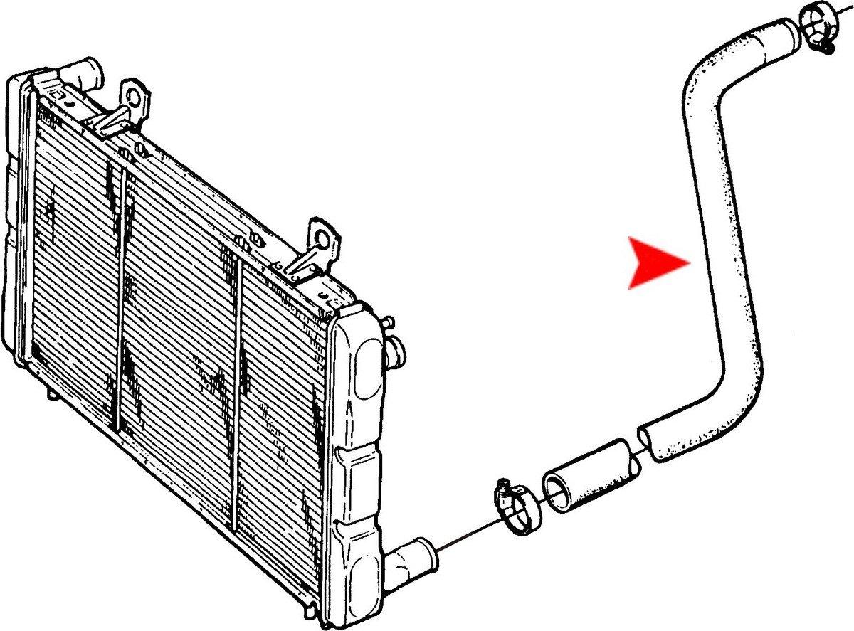 URO‿Parts 9364795 Flexible de radiateur