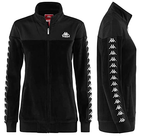 804e77ee Kappa Authentic Alkun Women Track Jackets 3030BF0 (L): Amazon.co.uk:  Clothing