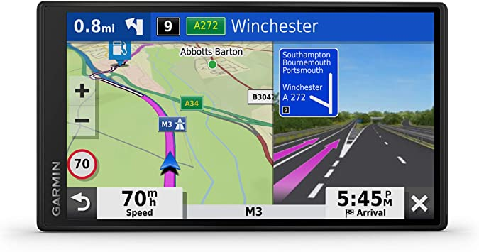 Garmin Drivesmart 65 Mt S Eu Navi Extragroßes Touch Display 3d Navigationskarten Und Live Traffic Via App Generalüberholt Navigation