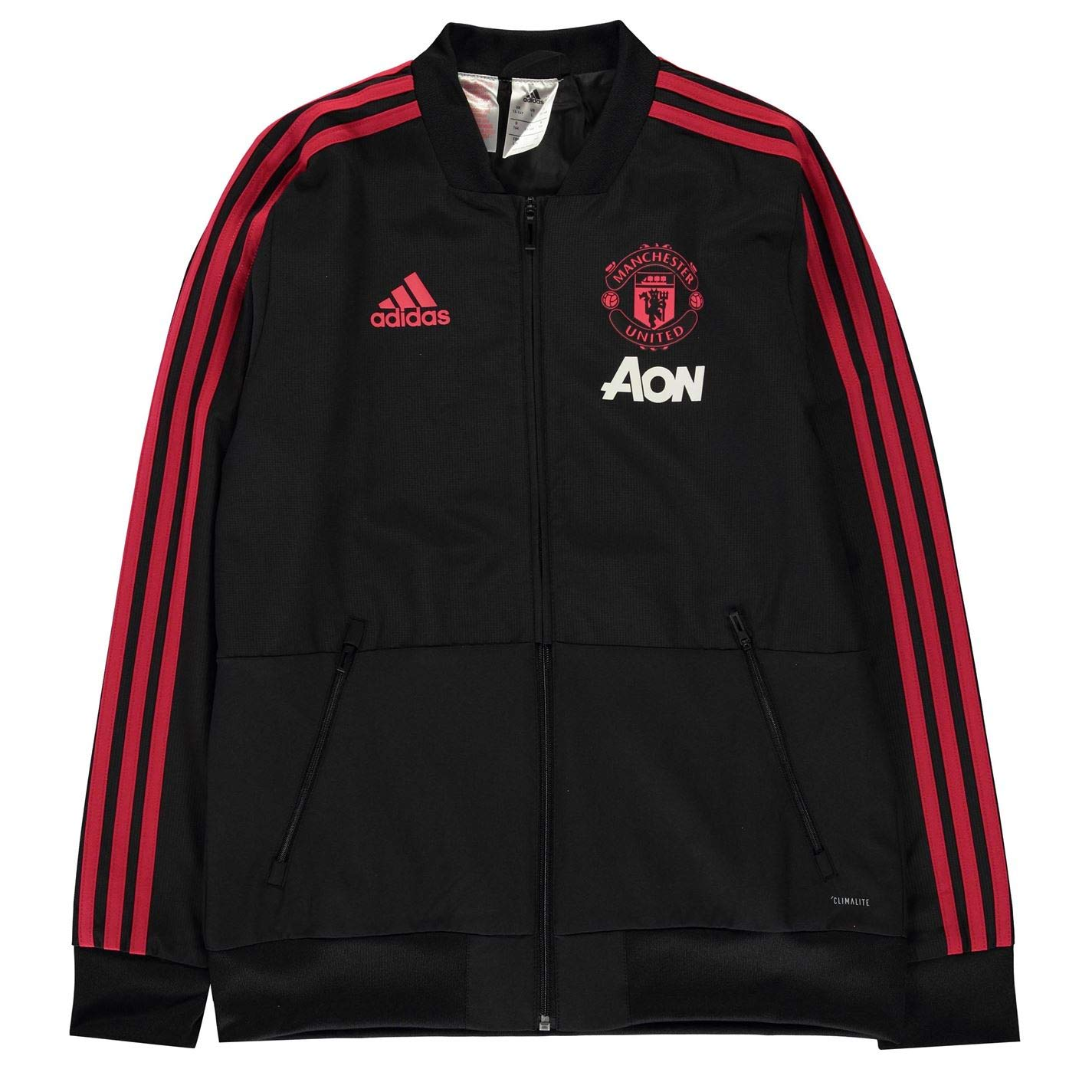 588b5cd31 adidas Children s Manchester United Fc Presentation Track Top   Amazon.co.uk  Sports   Outdoors