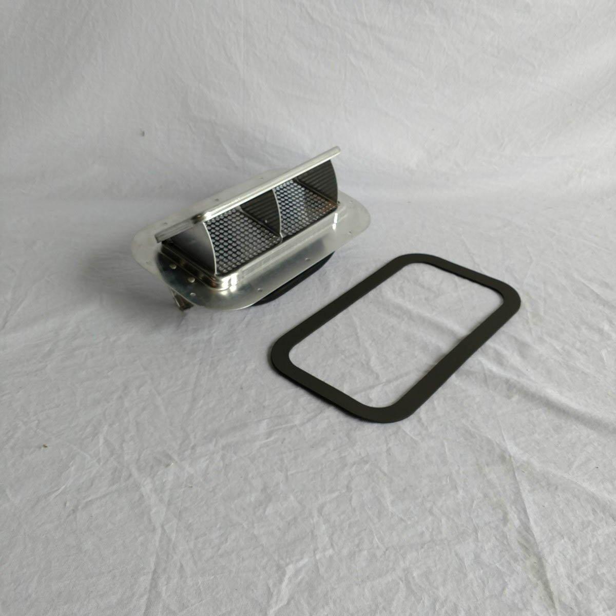 Aluminum Low Profile Popup Roof Vent Air Flow Horse Trailer Utility Cargo & Gasket 622062