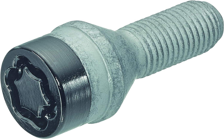 Hex Size 17mm 27204SUB Wheel Lock Bolts Black SUB M12 x 1,5 Overall Length 46,1 mm Key Diameter 25,8 mm Cone seat Shaft Length 22,0 mm