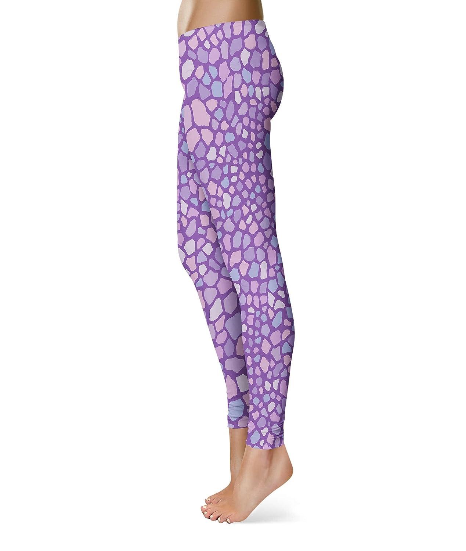 Rainbow Marble Leggings XS-3XL Lycra Gym Yoga Full Length