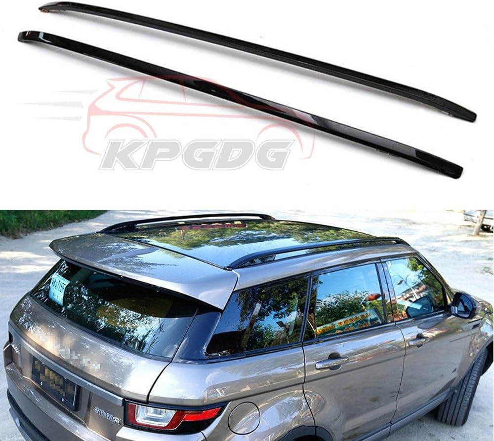 M-forma 135cm Coche de Aluminio Bloqueable Baca Barras de carril para adaptarse a Range Rover Evoque