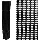 60% High Strength Windbreak Fence Netting Plastic Mesh 1m wide by the Metre, Black