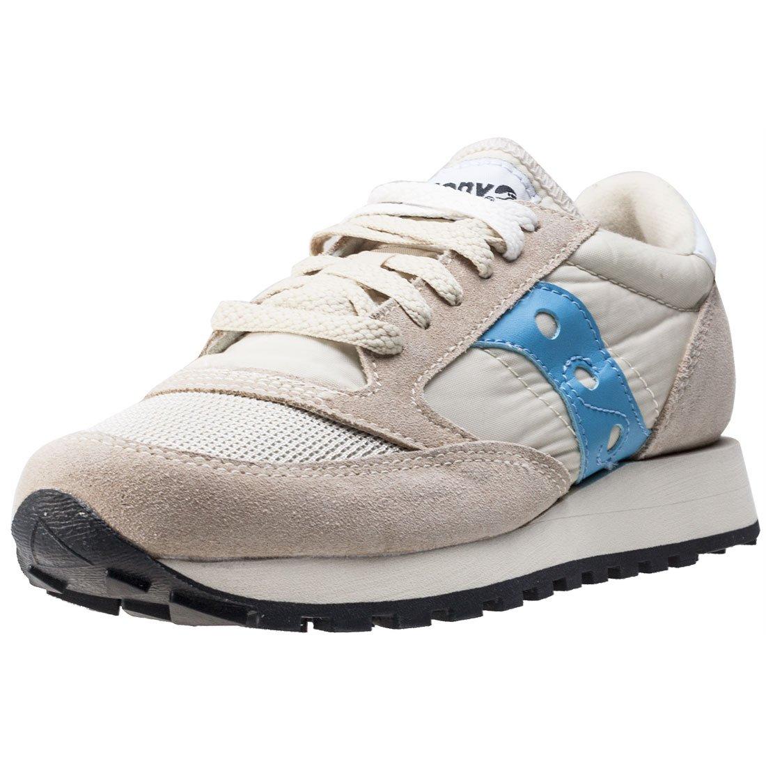 7eb947d8e096 Saucony Beige Sky Blue Jazz Original Vintage Trainers  Amazon.co.uk  Shoes    Bags