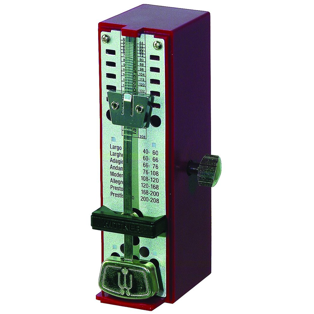 Wittner 903010 Metronomo Super Mini Cassa Sintetico Colore Avorio
