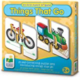 The Learning Journey My First Match It - Things That Go - 15 Self-Correcting Vehicle Matching Puzzles