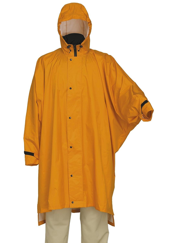スプルース レインポンチョ 全5カラー 全2サイズ ダークオレンジ M 防水透湿 2層レイヤー 止水テープ 8750 B0196P6EFY Medium|ダークオレンジ ダークオレンジ Medium