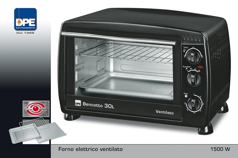 DPE Bencotto 30L - Horno (Horno eléctrico, 30 L, 1500 W, 30 L, 100 ...