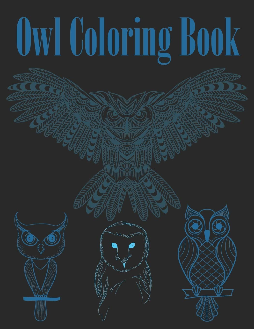 OWL Coloring Pages for Adults. Free Detailed Owl Coloring Pages | 1360x1051