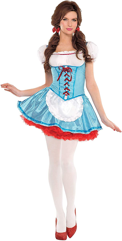 Disfraz de Dorothy para Adultos, tamaño pequeño, Incluye Mini ...