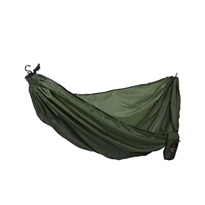 Grand Trunk Ultralight Camping Hammock - Lightweight and Portable Travel Hammock for Camping, Hiking, Backpacking and Other Travel, Forest Green: Sports & Outdoors