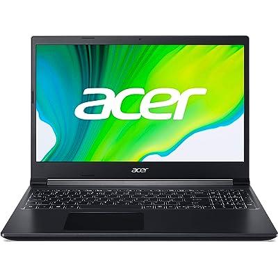 "Acer Aspire 7 - Ordenador portátil de 15.6"" FHD (AMD Ryzen 5 3550H, 8 GB RAM, 512 GB SSD, NVIDIA GeForce GTX 1650 4 GB, Sin Sistema Operativo) Negro - Teclado QWERTY Español"