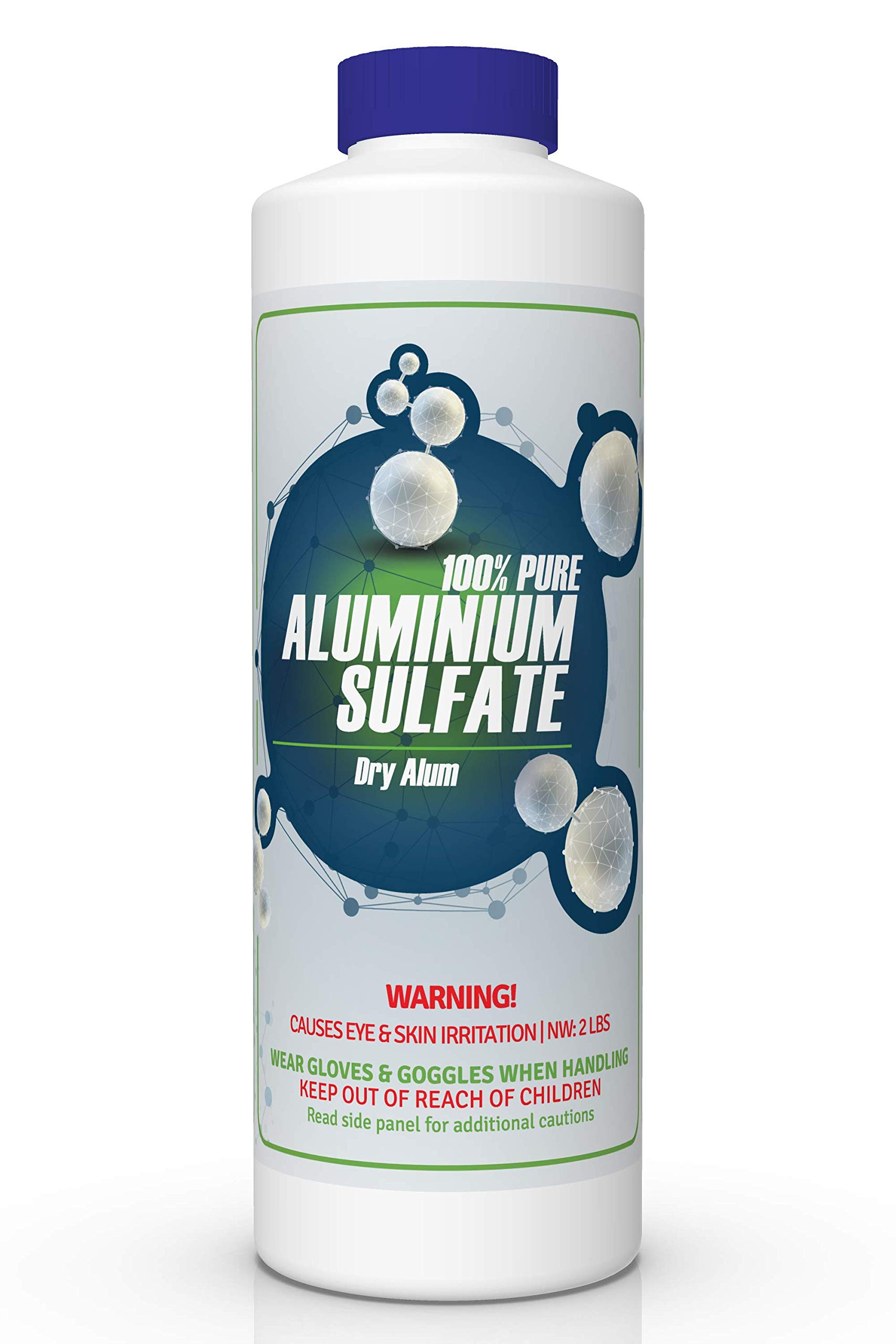 100% PURE Aluminum Sulfate, DRY ALUM CAS# 16828-12-9 by FDC