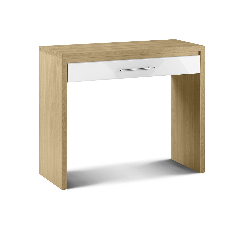 Julian Bowen Stockholm Dressing Table, Oak/White Gloss: Amazon.co.uk:  Kitchen U0026 Home