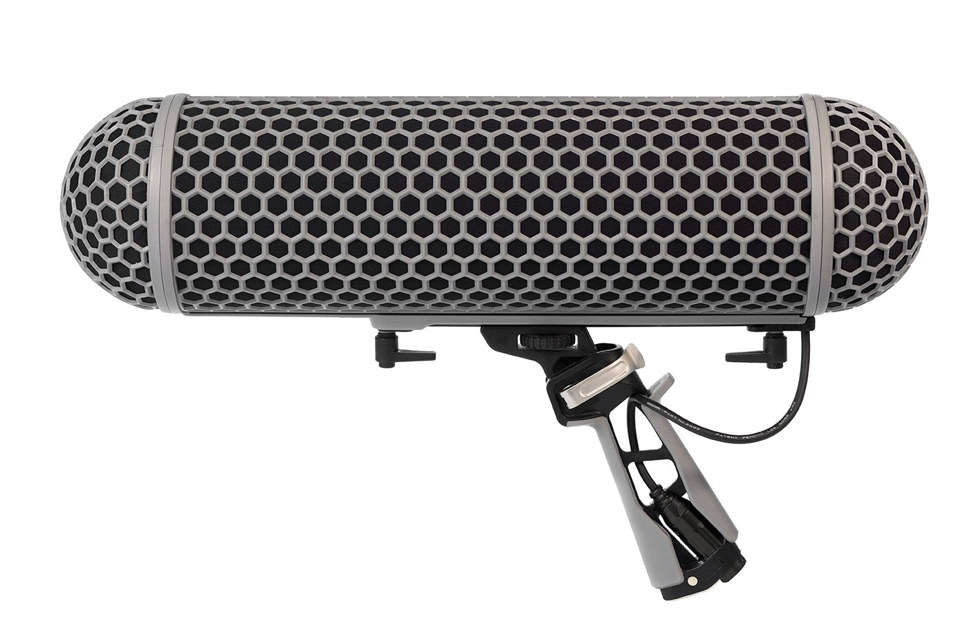 Rode Blimp Windshield and Rycote Shock Mount Suspension System for Shotgun Microphones by Rode
