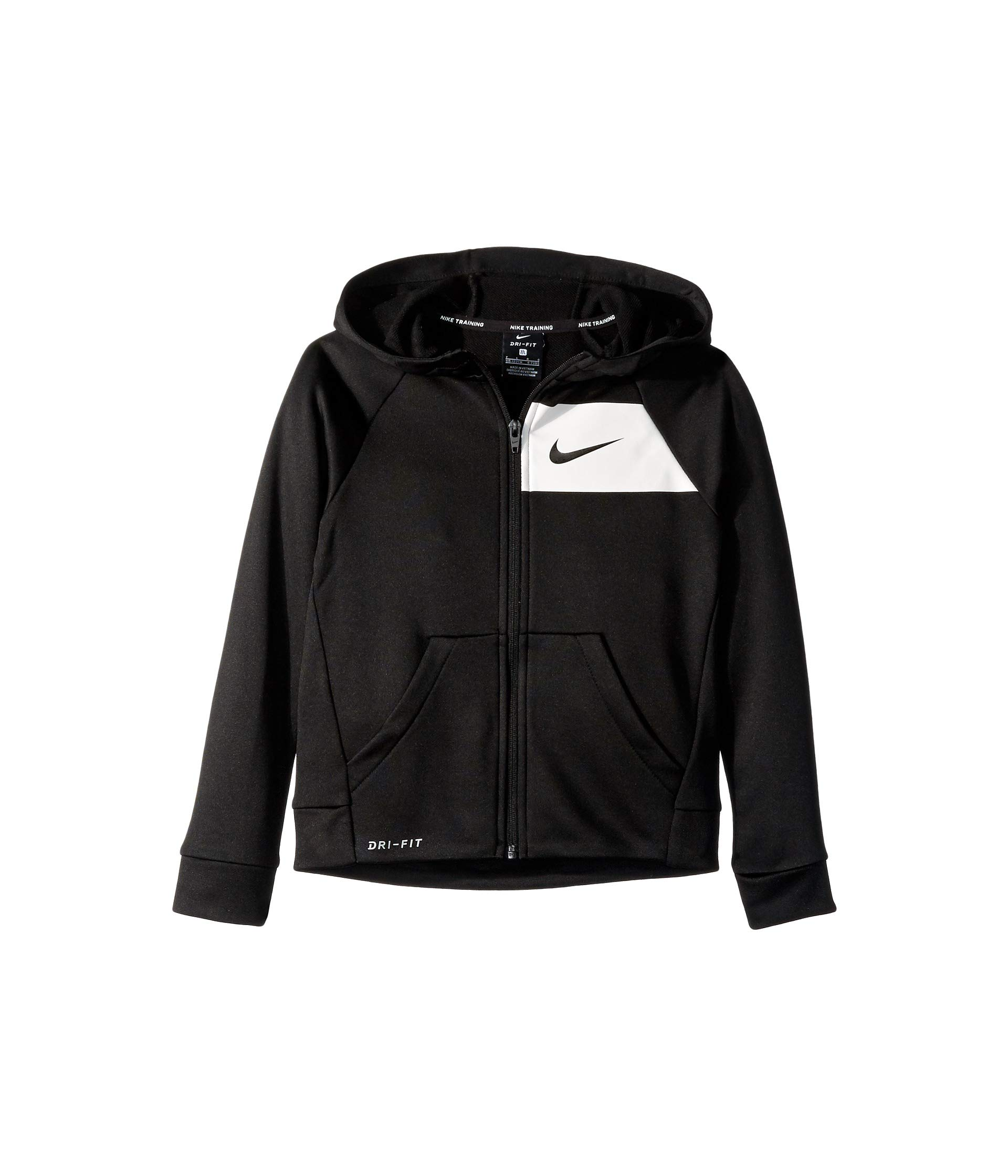 Nike Boys' Dri-Fit Hoodie - Black, 6
