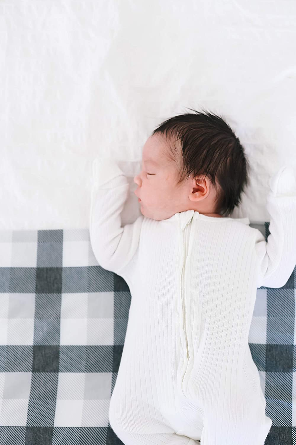 Copper Pearl Large Knit Baby Swaddle Receiving Blanket Hudson