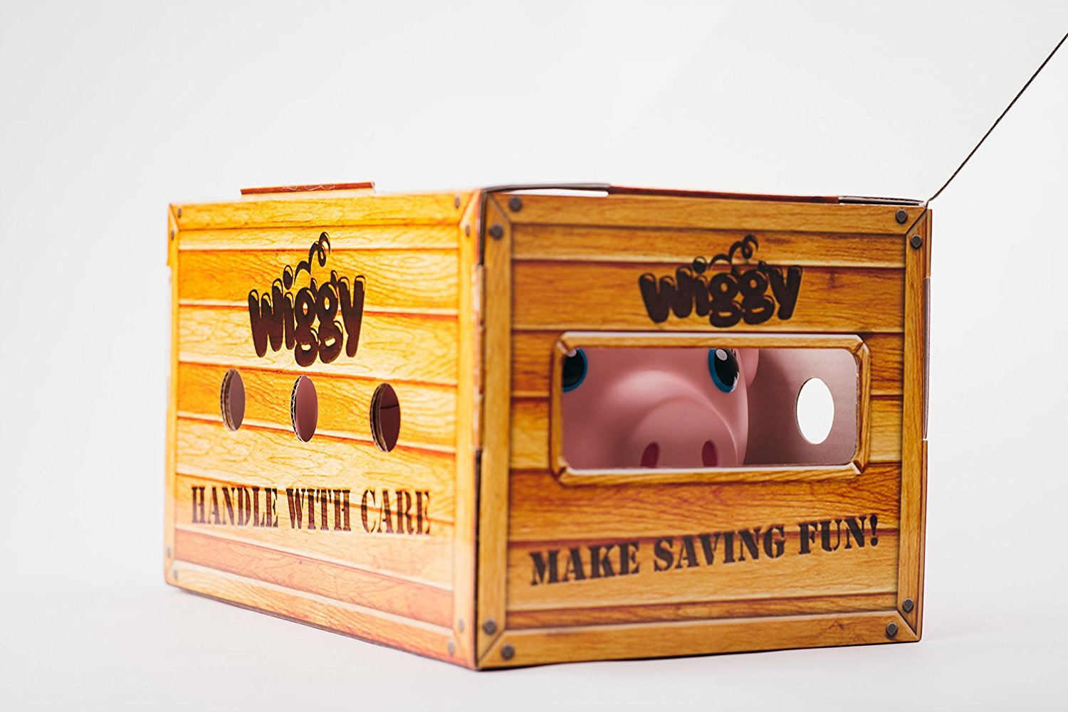 Wiggy Piggy Bank (Spotty): Smart Speaking Piggy Bank and Task Tracker by Wiggy (Image #2)