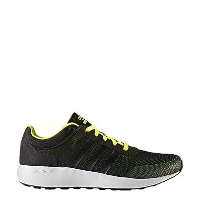 info for 54d0f 99f25 adidas Cloudfoam Race, Chaussures de Gymnastique Homme, Noir  (NegbasNegbasAmasol